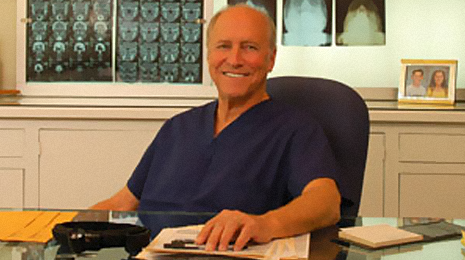 Dr. Paley in His Office in Beverly Hills